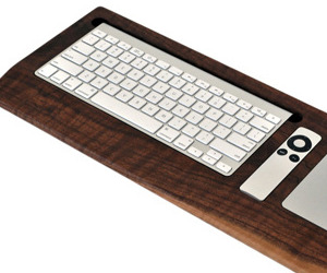 Combine Walnut Keyboard Tray