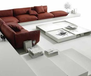 Comfortable JALIS Sofa Furniture by Jehs+Laub