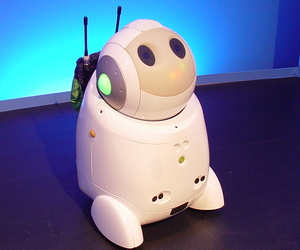 Communication Robot : PaPeRo