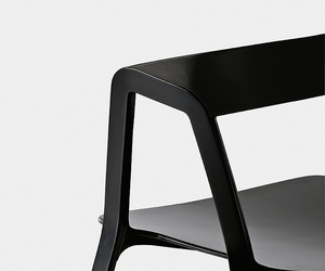 Compas, Stackable chair by Patrick Norguet