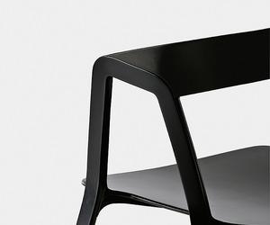 Compas, Stackable chair by Patrick Norguet