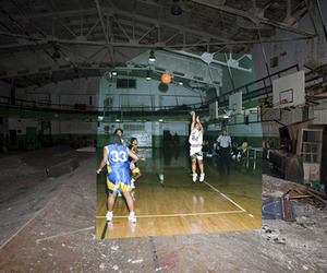 Composite Photos Illustrate the Rise and Fall of Detroit