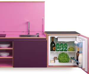 Concealed Kitchenette by Miniki