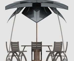 Concept Heat Reflection Canopy by Russ Zoran