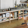 Concrete And Oak Kitchen By Rainer Spehl