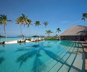 Constance Halaveli Maldives Resort in the Maldives
