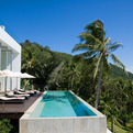 Constrasting the Lush Vegetation of Koh Samui: Villa Beige