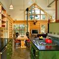 Contemporary Colorado Log Cabin