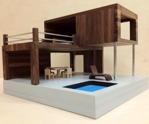 Contemporary Dollhouse by New8th