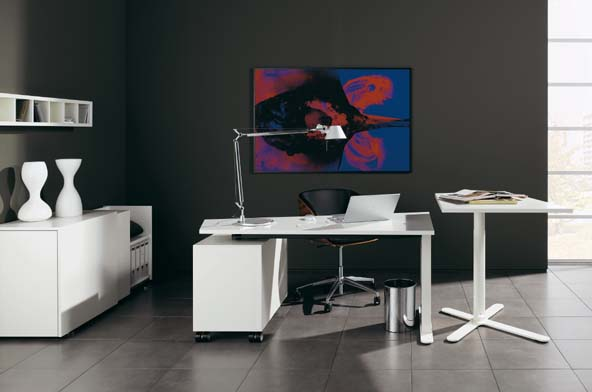 Contemporary Home Office Furniture by Huelsta