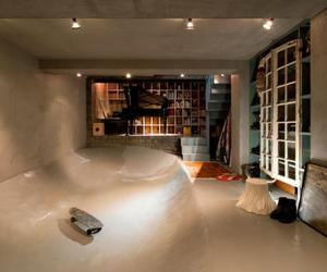 Contemporary House in Kitasando with Built in Skate Bowl