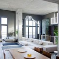 Contemporary Industrial Loft in Kiev, Ukraine by 2B Group