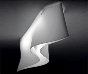 Contemporary Italian Wave Effect Ceiling Light