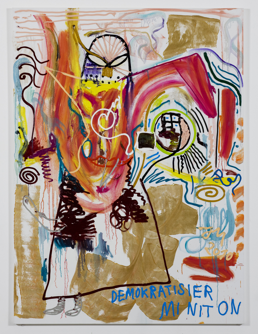 Contemporary Master Jonathan Meese