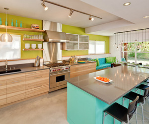 Remodeled Contemporary Modern Kitchen