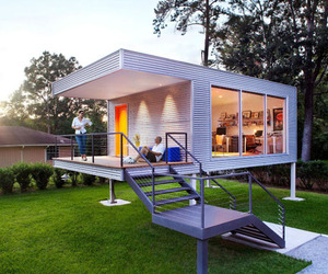 Contemporary modular structure for your backyard