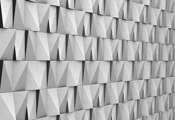 Contemporary Mood Modular Concrete High Relief Panels