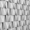 Contemporary Mood: Modular Concrete High-Relief Panels