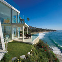 Contemporary Oceanfront House on Laguna Beach