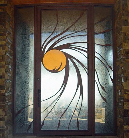 Contemporary Residential Entry Door