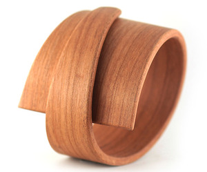 Contemporary Wood Art Jewelry