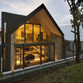 Contemporary Y-House in Singapore by ONG&ONG
