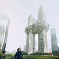Controversial Cloud Towers Resemble 9/11 Attacks