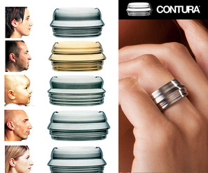 Contura Rings Made From Your Profile.