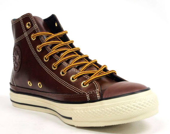 Converse Japan Oiled Hi Leather All Star Sneakers