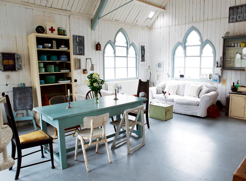 Converted Tin Chapel Home By Nick Kenny