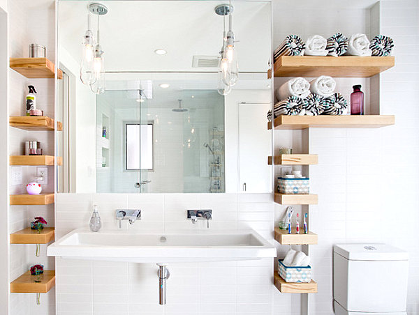 Elegant This Homify Article Presents You With 10 Really Inspiring Bathroom Storage Ideas, Particularly For Small Bathrooms Have A Look And See Which One Is Perfect To Lessen The Chaos In Your Small Bathroom