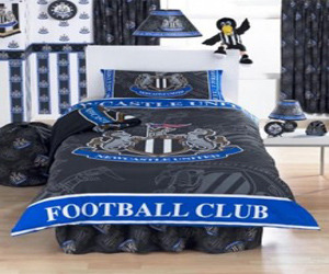 Cool Boys Soccer Bedding with England Soccer Leaque Theme
