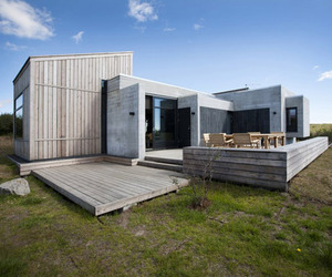 Cool + Homey Brekkuskogur Cottages by Arkibullan Architects