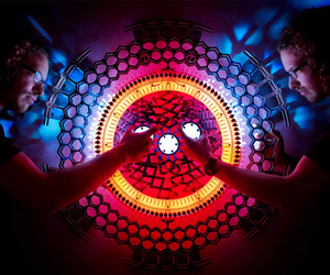 Concentricity, Cool Interactive Light Sculptures