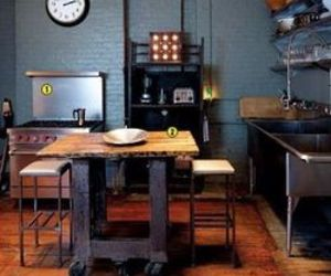 Cool Kitchen With Reused And Salvaged Items