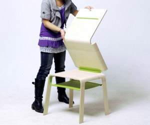 Cool transformable furniture design for small space for Cool desks for small spaces