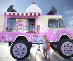 Coolest Ice Cream Truck From Skoda