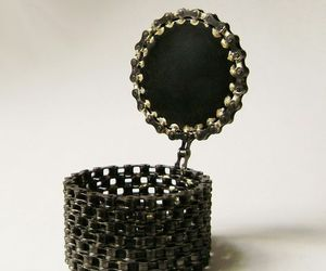 Coolest recycled bicycle chain creations