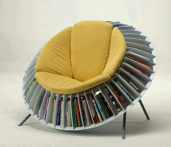 Collection of Cool Seating Designs for Bookworms