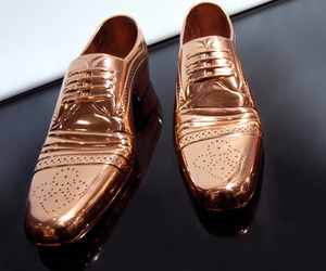 Copper Finish Cast Shoe Collection