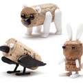 Corkers Pushpin Cork Creatures