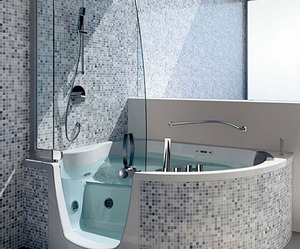 Corner Whirlpools by Teuco