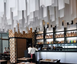 Cornerstone Restaurant designed by Studio Ramoprimo