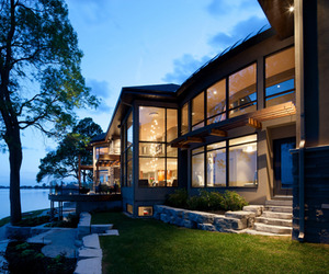 Cornwall River Home by Christopher Simmonds Architect