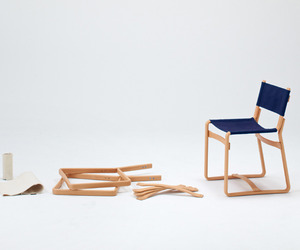 Coshell, Flat Packed Chair by Tendo Mokko