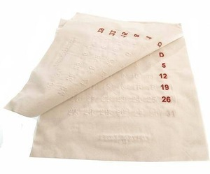 Cotton Calendar by Maison Martin Margiela