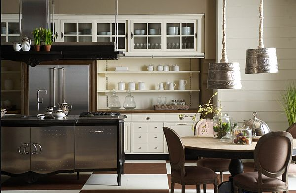 Country Style Kitchens That are Traditionally Modern