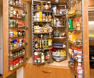 Courmet Kitchen Pullout Pantry by Hafele