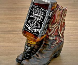 Cowboy Boot Bottle