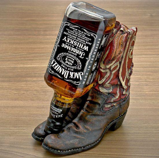 Cowboy Boot Wine Bottle Holder Cowboy Boot Bottle